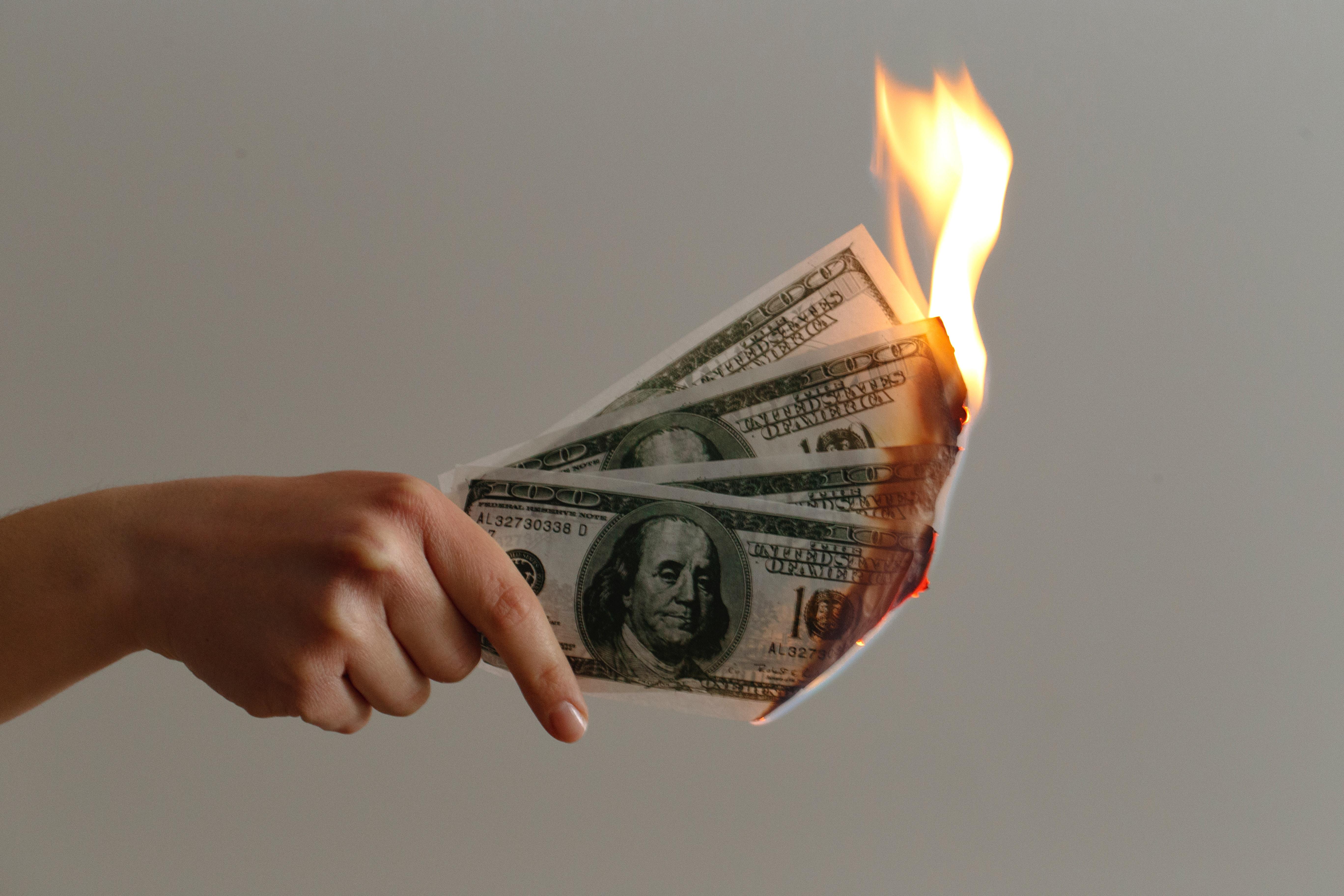 Anleger verbrennen Geld
